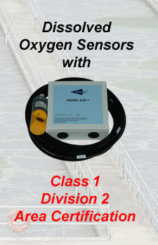 Optical Dissolved Oxygen for Class 1, Division 2